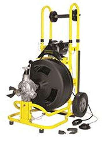 """COBRA PRODUCTS GIDDS-211332 3/4"""" x 100' Speedway Drain Cleaning Machine"""