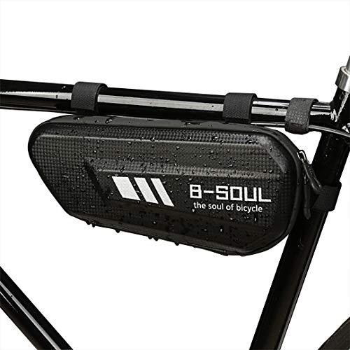 COOFIT Bolsa de Cuadro de Bicicleta Bolsa de Almacenamiento de Bicicleta de Gran Capacidad multiprop/ósito Bolsa de tri/ángulo de Bicicleta