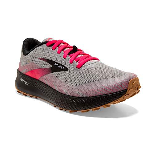 Brooks Catamount, Zapatillas para Correr Mujer, aleación Rosa Negro, 38 EU