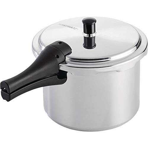 Farberware Cookware Aluminum Pressure Cooker, 8-Quart