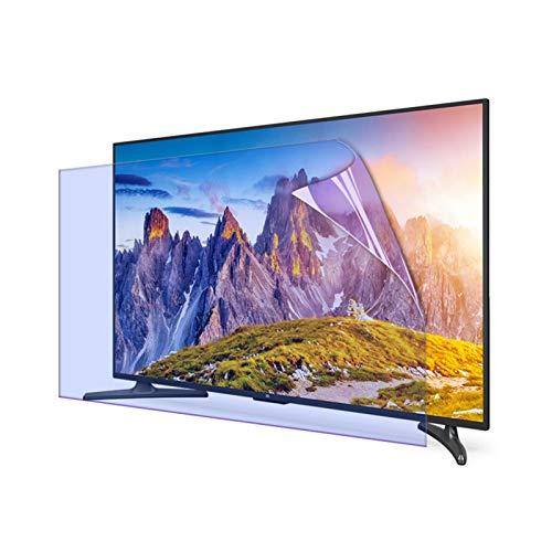 AWSAD Protector Pantalla de TV, por HDTV LCD, LED, OLED Y QLED 4K 27-75 Pulgadas Filtro de Pantalla Aliviar La Fatiga Ocular Luz Azul Anti (Color : Anti-Blue Light, Size : 46 Inch 1017 * 570mm)