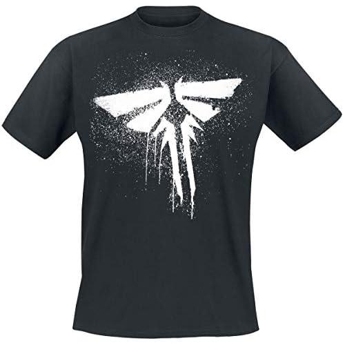 The Last Of Us T-Shirt Last of US Firefly, Nero, L Uomo