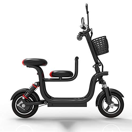 CxiaoZks Scooter eléctrico para Adultos Mini batería de Litio de Coches delfín...