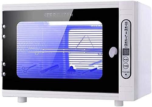 XZHU I batteri sterilizzazione UV LED Disinfezione Gabinetto, Asciugamani Luce Ultravioletta ozono sterilizzatore Box per Nail Nippers, Ucciso