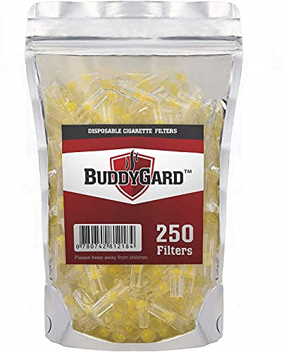 BuddyGard Filtros de cigarrillos (250 ct.)