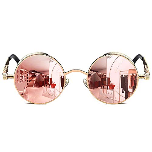 steampunk sunglasses with side shields