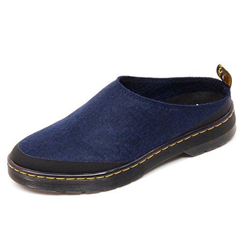 Dr. Martens D1722 Sabot Donna Elysia Scarpe Blu Shoe Woman [37]