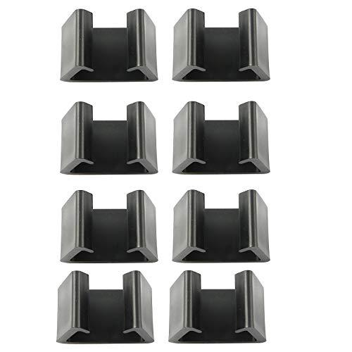 Youliang 8 clips de mimbre para muebles de patio, 4,25 cm, ranura interna, para balcón, sofá, conexión de clip para muebles