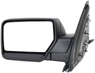 Go-Parts - OE Replacement for 2007 - 2014 Ford Expedition Side View Mirror Assembly / Cover / Glass - Left (Driver) Side 7L1Z 17683 CA FO1320382 Replacement For Ford Expedition