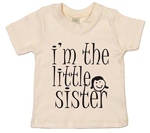 Image Vêtements bébé, I'm The Little Sister, T-Shirt bébé, 18-24m, Beige