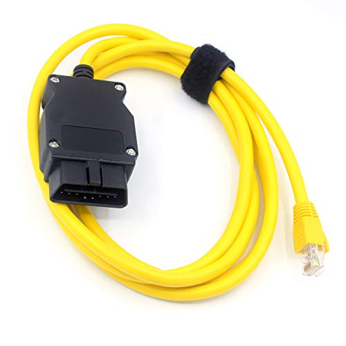 LoongGate ENET-Kabel Ethernet auf OBD2 für BMW E-SYS ICOM 2 Codierung ESYS ICOM Diagnosegerät, ohne CD