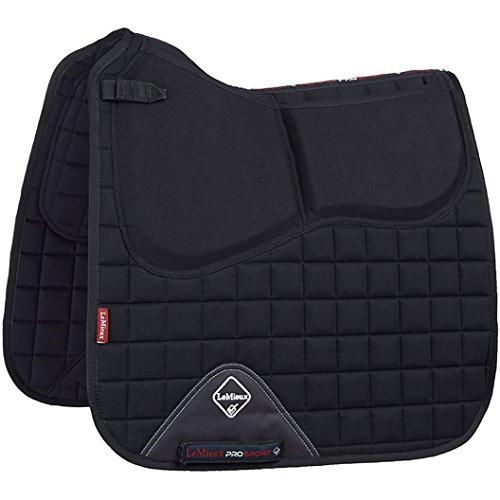 LeMieux Sport-Schabracke mit Pro-Sorb-System, quadratisch L schwarz