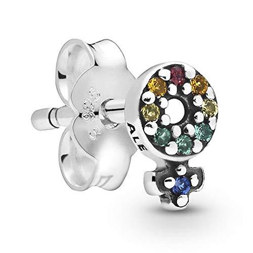 Pandora Pendientes de botón Mujer Plata esterlina No aplicable - 298550C01