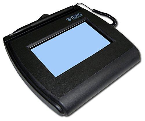 토파즈 T-LBK755SE-BBSB-R SIGNATUREGEM LCD4X3 서명 캡처 패드 듀얼 직렬 | 가상 직렬 통해 USB