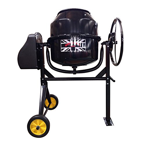 Dirty Pro ToolsTM Large Professional Cement Mixer 140 litres 240V 550W...