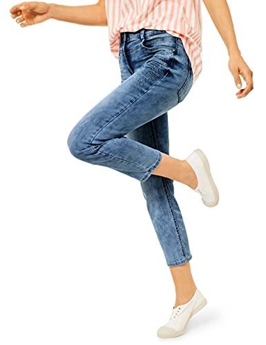Cecil Damen Toronto Jeans, mid Blue wash, W32/L24