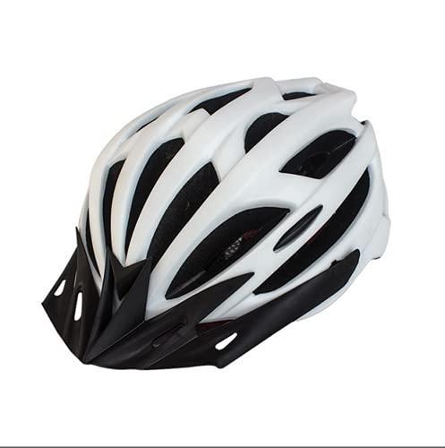 SONG Casco de Bicicleta, Ajustable Ligero Transpirable Cómodo Fácil de Colocar Moldeado Integrado Protección de Seguridad para Andar en Bicicleta de Carretera Casco de Seguridad,C
