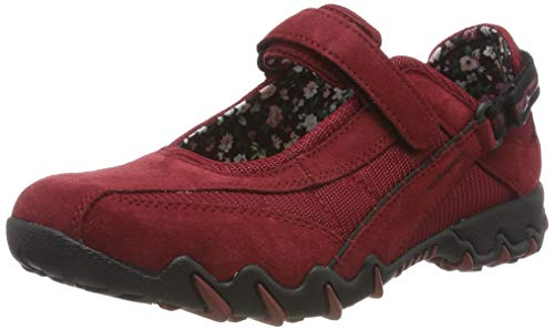 Allrounder by Mephisto NIRO, Damen Outdoor Fitnessschuhe, Rot (Red Element/Red Element Coresuede 16/Nb Mesh 16), 39 EU (5.5 UK)