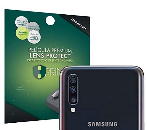 Pelicula para camera LensProtect para Samsung Galaxy A70, Hprime, Película Protetora de Tela para Celular, Transparente