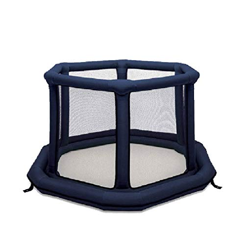 Baby Play Yard Nursery Furniture Parcs pour Enfants Air Clôture Pliable Toddler Fence Indoor Portable Playground Best Gift for Infants, Kids Safety Activity Center Area (55 * 55 * 30in)