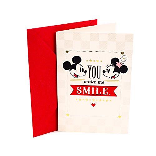 Hallmark Disney Love Card or Anniversary Card (Mickey Mouse & Minnie Mouse)