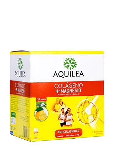 Aquilea Colageno + Magnesio - Suplemento para Articulaciones, 30 Sobres