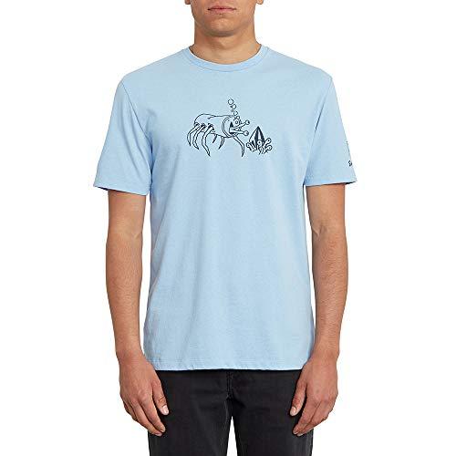 Volcom S. Zubizarreta FA Ss Herren-T-Shirt L Mysto grün