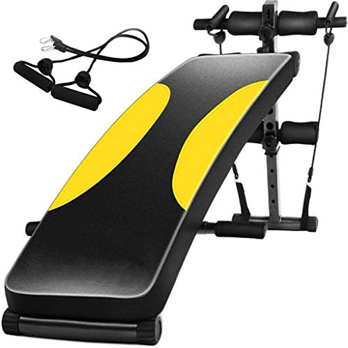 Amazing Deal Multi-Function Supine Board Household Foldable Abdominal Board Sit-Ups Fitness Equipmen...