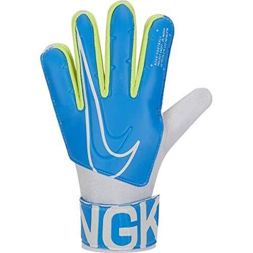 Nike GS3883, Guanti da Calcio Unisex Bambini, Blue Hero/White, 8