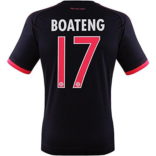 FC BAYERN MÜNCHEN CHAMPIONS LEAGUE TRIKOT 2015/16 - BOATENG, Größe 128