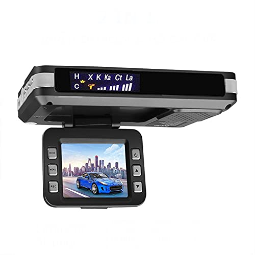 Dash Cam,Flow Radar Detector Car DVR 2 in 1 Video Recorder 720P Car Dash Cam G-Sensor Camera Dashcam Hidden Recorders Night Vision
