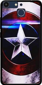 Mobilinnov Custodia in Silicone TPU Protettiva Case Cover per Archos 50F Helium - Bouclier avec étoile Bleu - Case Accessori