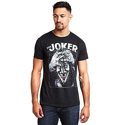 DC Comics Camiseta Crazed Joker