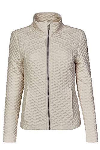 Killtec Damen Selvana Fashion Powerstretchjacke, hellgrau, 42