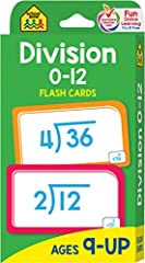 52 Problem Cards 3 Division Information Cards Parent Card with tips 104 division problems from 4 ÷ 2 to 144 ÷ 12 Correct answers on reverse side of card