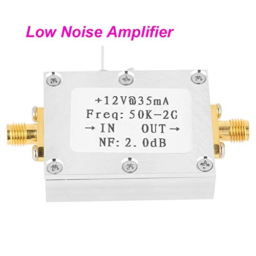 Hensdd Amplificador De Banda Ancha RF Receptor De Señal De 50K-2 GHz De Bajo Ruido De Banda Ancha Junta Módulo Amplificador LNA De Ganancia 31Db