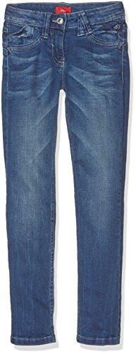 s.Oliver Mädchen Hose Jeanshose, Blau (Blue Denim Stretch 57z2), 146 (Herstellergröße: 146/SLIM)