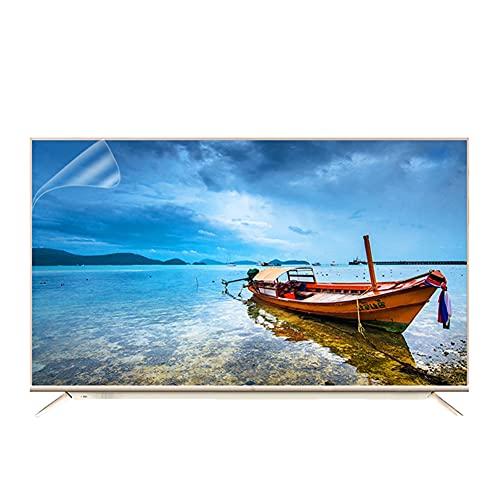 """55-65 pulgadas TV protector de pantalla azul claro Filtro de luz mate anti-deslumbramiento / anti rayado / película anti-huella digital Alivie la fatiga ocular, para LCD, LED y curvada,65""""(1429×804mm)"""