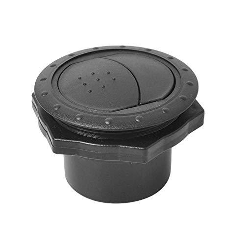 Super1Six Universal 60mm 2.35'Ronda A/C Outlet Outlet Vent for el Barco de autobús de RV Yate Auto Aire Acondicionador de Aire Reemplazo de Aire Accesorios for automóviles (Color Name : Black)