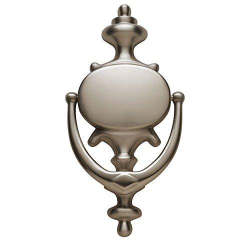 Baldwin Estate 0116.150 Imperial Knocker in Satin Nickel, 8.5' x 4.1'