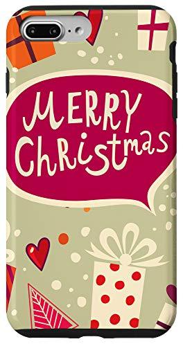 iPhone 7 Plus/8 Plus Merry Christmas Presents Snow Days Merry Xmas Gift Phone Case