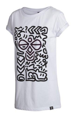 Hummel Damen T-shirt Paula Short Sleeve, white, XS, 08-711-9001