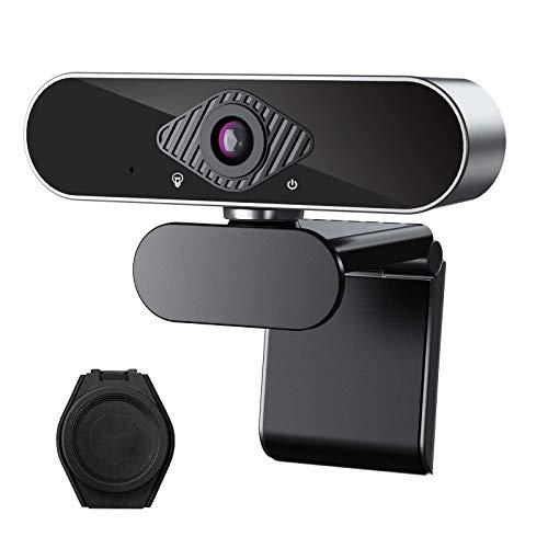 Webcam con micrófono 1080P,Full HD Webcam PC para