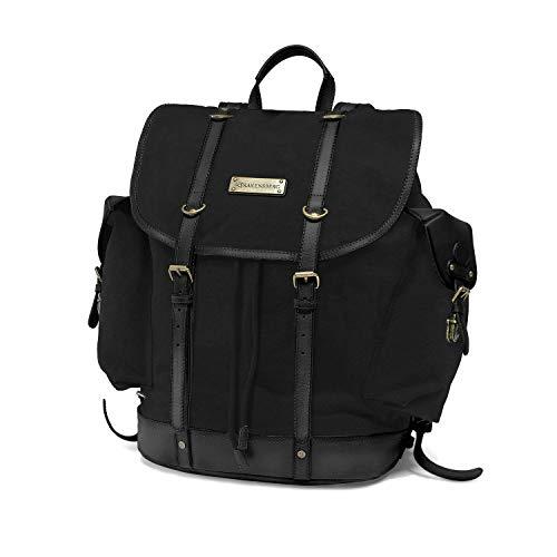 DRAKENSBERG Backpack - Bergsteiger Wander-Rucksack im Retro-Vintage-Design mit...