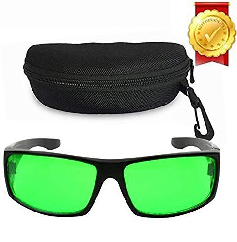 Derlights indoor grande luce gli occhiali, anti - uv, correzione colore, occhiali protettivi per l'illuminazione intensa ha visuale in serra & serra