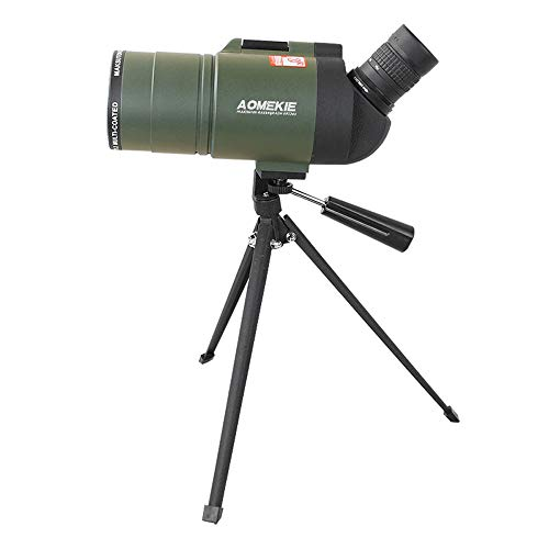 Lowest Prices! Monoculars Spotting Scope with Tripod,45-Degree Angled Big Eyepiece,Waterproof Fo...