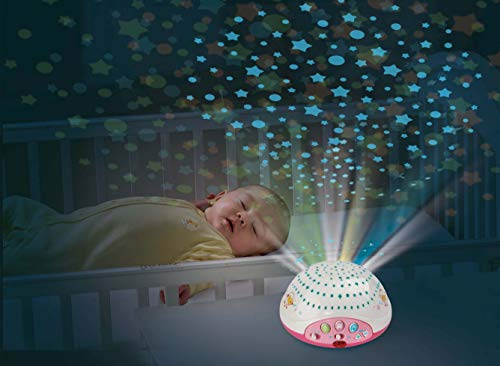 VTech Lullaby Lambs Mobile (Pink), Baby Night Light Projector, Baby Born Cot Toys, Newborn Baby Toys with Lights and Music, Soothing Baby Lights Projector for Boys and Girls Aged 0 Months to 3 Years Baby & Toddler Toys Toy Types