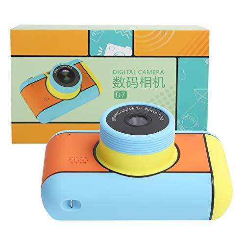 Mini cámara, lente dual de la pantalla 2800W del IPS de la cámara de los niños para el regalo