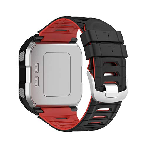 Xueebaoy Pulseira de relógio de silicone para Garmin - Forerunner 920XT Pulseira esportiva