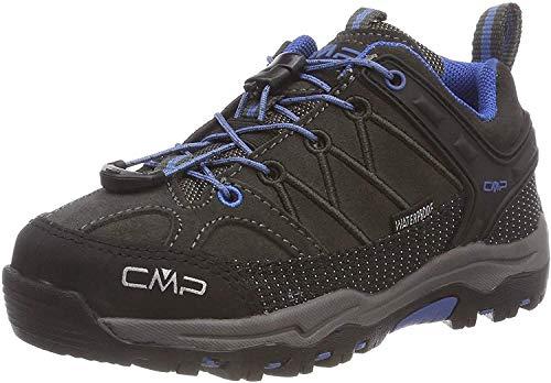 CMP Unisex-Kinder Kids Rigel Low Shoes Wp Trekking-& Wanderhalbschuhe, Braun (Arabica-Adriatico 81bn), 31 EU